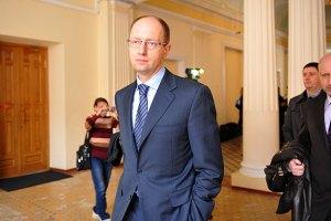 Яценюк обвинил ПР в проплате митинга оппозиции