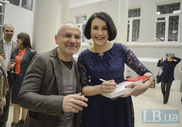 Савик Шустер и Соня Кошкина
