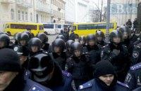 """На Банковой дежурят 40 автобусов """"Беркута"""""""