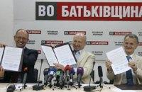 Турчинов пообещал главе Меджлиса одно из лучших мест в списке оппозиции