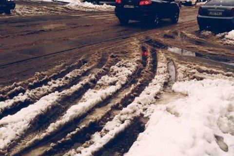 ВКиеве предполагается снег сдождем