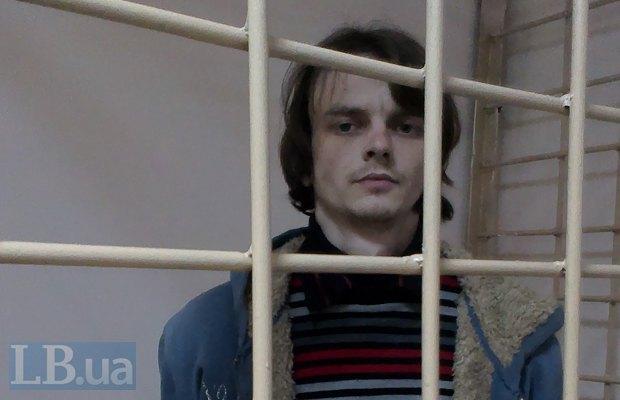 Андрей Иванюк во время суда