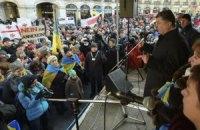 Порошенко встретился с украинской диаспорой Мюнхена
