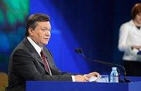 Associated Press не добилось от Янукович ответа о судьбе Тимошенко