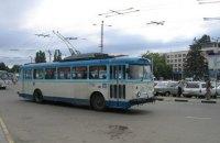 В Симферополе на маршрут вышли только 9 троллейбусов