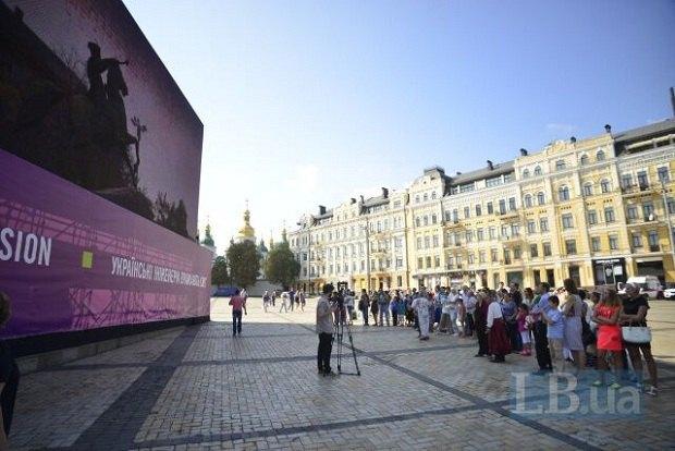 """Українські інженери """"оживили"""" пам'ятник Богданові Хмельницькому (фото)"""