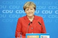 Меркель в девятый раз переизбрана лидером Христианско-демократического союза