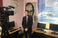 Студенты из Мариуполя создали портрет Стива Джобса из компьютерных клавиш