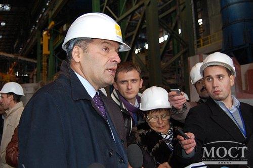 «То, что мы здесь построили – это металлургия будущего, металлургия 21 века», - Пинчук
