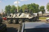 МВД подтверждает ввод внутренних войск в Днепропетровск