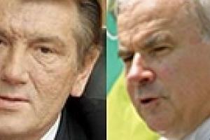 Ющенко пообщался с канадским спикером