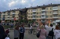 В российском Междуреченске обвалился подьезд жилой пятиэтажки