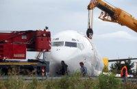 В Италии грузовой самолет выкатился со взлетной полосы на автодорогу