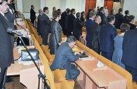 Николаевский депутат-коммунист отказался вставать под гимн Украины