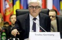 Штайнмайер считает, что проведение выборов на Донбассе пока невозможно