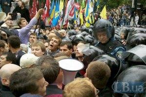 Міліція спростовує інформацію про затримання під час мітингу