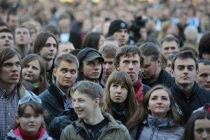 Более 40% украинцев хотят жить при диктатуре