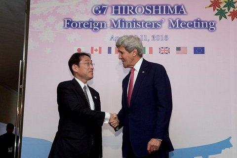 Керри стал первым госсекретарем США, посетившим Хиросиму после атомной бомбардировки