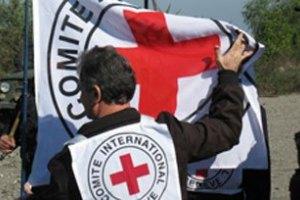 Красный Крест не сопровождает российский груз