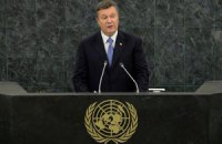 Янукович заверил генсека ООН в дальнейшей поддержке деятельности организации