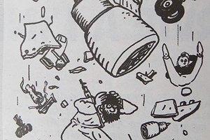 Charlie Hebdo опубликовал карикатуры на крушение А321 (обновлено)