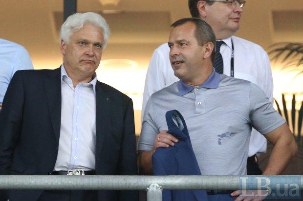 Глава СБУ Игорь Калинин и секретарь СНБО Андрей Клюев