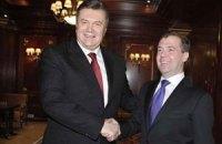 Медведев доволен российско-украинским сотрудничеством в 2011 году