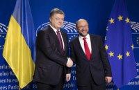 В Европарламенте есть стабильное большинство для введения безвизового режима с Украиной, - Шульц