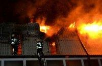 В Одессе во время пожара в новостройке сгорело 10 квартир