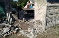 В результате ночного обстрела Марьинки ранены двое мирных жителей
