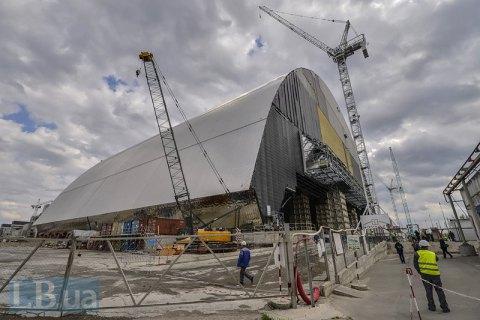 Защитная арка будет надвинута наразрушенный энергоблок Чернобыльской АЭС 29ноября