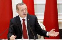 Эрдоган обвинил коалицию во главе с США в поддержке ИГИЛ