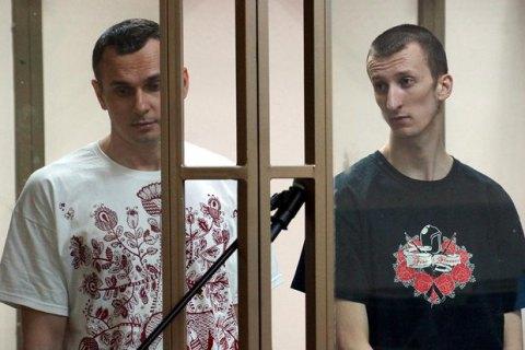 Украина направила запрос в Россию с требованием вернуть Сенцова и Кольченко