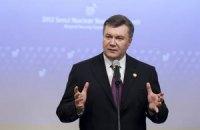 Янукович велел улучшить законодательство о языках