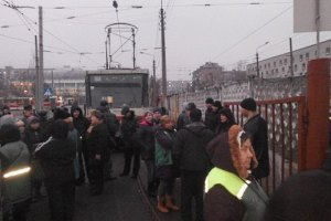 Водители киевских трамваев объявили забастовку