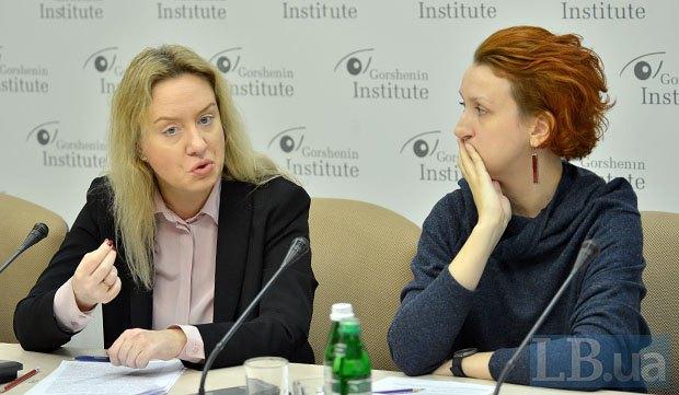 Дарина Бадьйор і Світлана Фоменко (зліва)