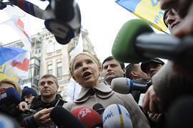 Тимошенко: придет время Януковича бежать из страны