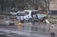 В Шостке обстреляли военкомат и взорвали машины у горотдела милиции
