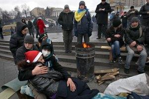 ГАИ препятствует въезду грузовиков в центр Киева, - оппозиция