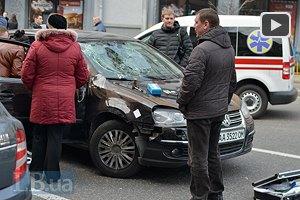 В центре Киева стреляли