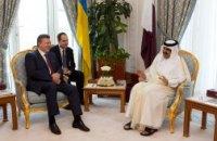 Янукович выпрашивает у катарских бизнесменов деньги на Олимпиаду