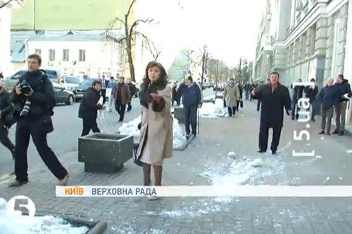 Марині Ставнійчук дісталося більше за Горіну