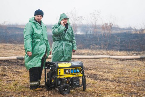 В Киевской области потушили все тлеющие торфяники