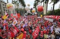 Сторонники Дилмы Русеф пообещали массовые митинги в день открытия Олимпиады