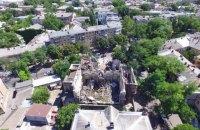 В Одессе рухнул аварийный дом-памятник архитектуры