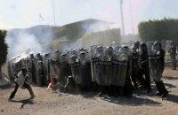 В Мексике родители пропавших студентов напали на воинскую часть