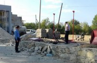 При взрыве на заправке в Хмельницкой области погиб человек