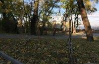 В Одессе вандалы уничтожили аллею Небесной сотни