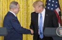 Трамп попросив Ізраїль почекати з будівництвом нових поселень