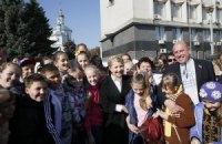 Тимошенко: страну нужно сохранить единой ради детей